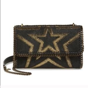 NWT Falabella Shaggy Deer Star Faux Leather Bag